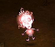 Wickerbottom lightning strike