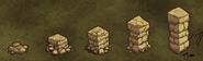 Stone Wall tiers