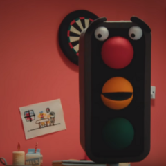A picture of the Traffic Light
