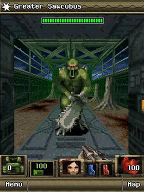 Doom 2 RPG Sawcubus J2ME