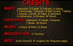 Requiem Credits