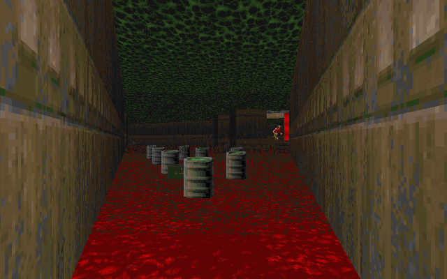 File:E1M8 behind barrels.png