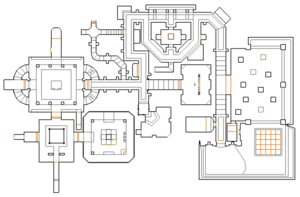 The Mansion map