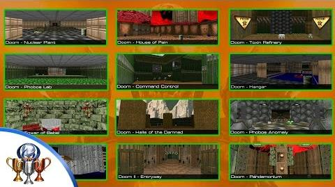 Doom - How to Unlock all Playable Classic Map Secret Levels (Doom & Doom II Easter Eggs)