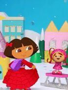 Dora Red Dress