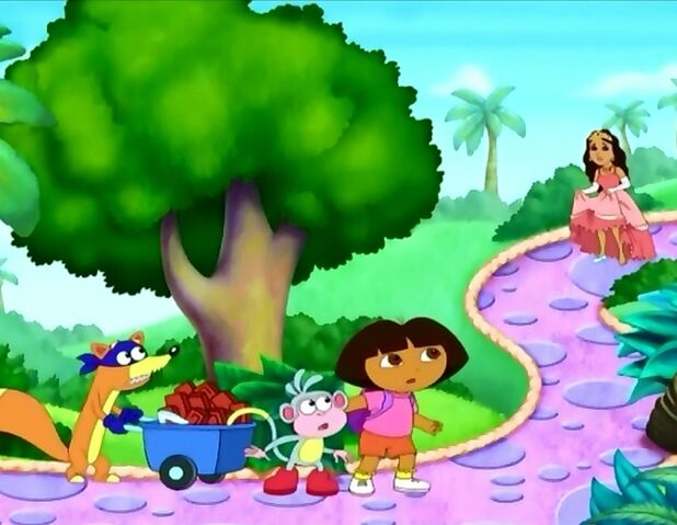 File:Dora boots and swiper in fairy tale land by fucciflakes-d59y2u1.jpg