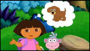 Dora Dreaming About Puppy