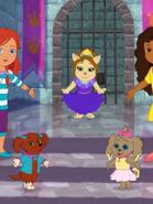 Princess Puppy Curtsy