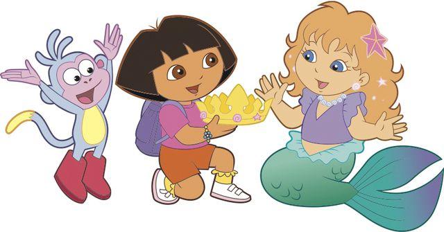 File:Dora-con-sirenetta-e-scimmia.jpeg