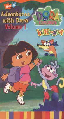 Adventures with Dora the Explorer Volume 1 VHS Pinterest