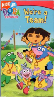 Dora the Explorer We're a Team VHS