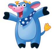 Dora the Explorer Benny the Bull Nickelodeon Nick Jr. Noggin Character Image 2