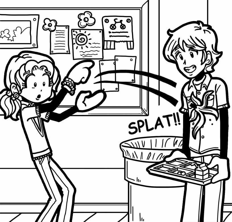 Lying To Parent Coloring Page