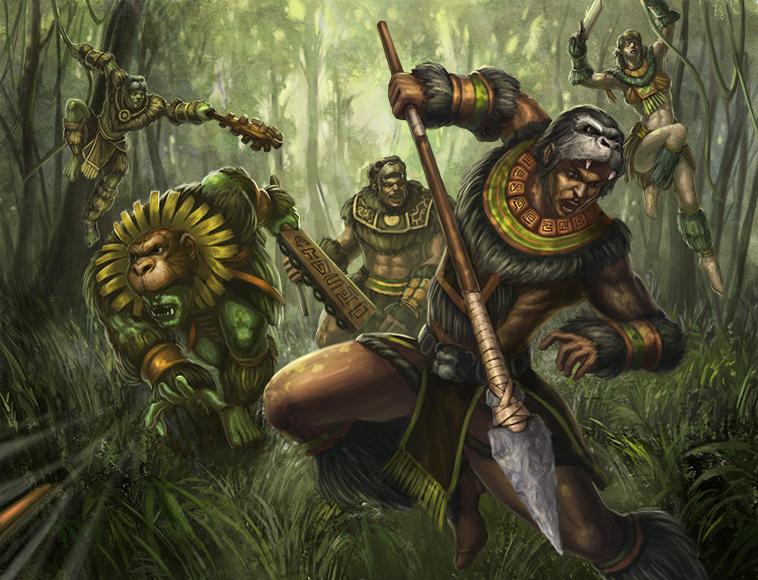 Warrior Monkeys