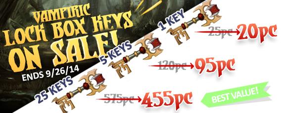 Scroller dotd lockbox key sale