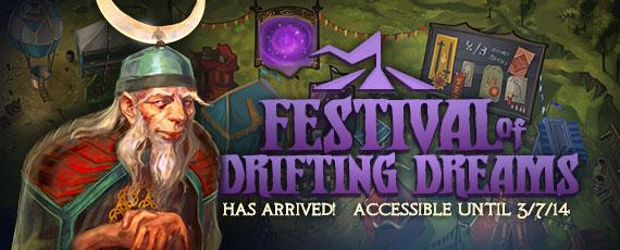 Scroller festival of drifting dreams