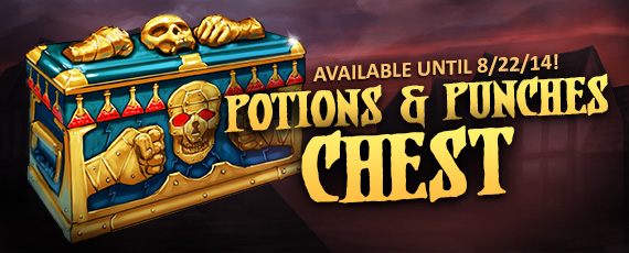 Scroller dotd potions punches