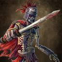 Skeleton legionary