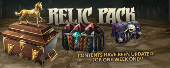Scroller relic pack 020714