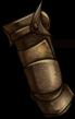 Gloves bronze