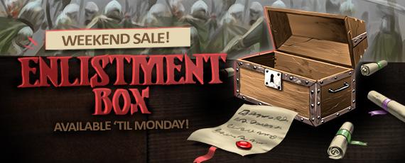 Scroller enlistment box