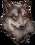Wolf Beastman Illusion Head