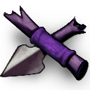 Spear purple
