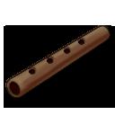 Flute brown