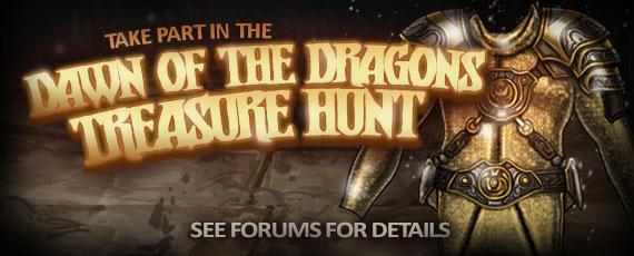 Scroller treasure hunt