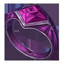 Ring violet knight