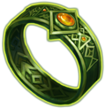 Ring green knight