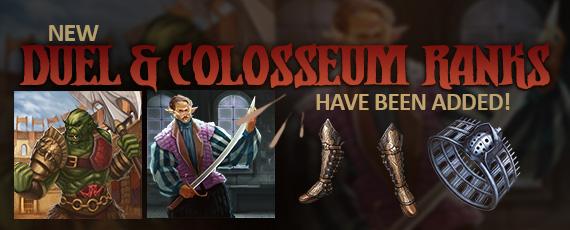 Scroller duel colosseum ranks
