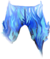 Pants blue fire fashioned