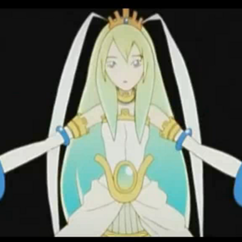 AIKA appears in the .hack//Link opening movie.