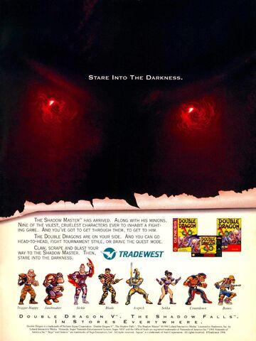 File:Double Dragon video game print ad NickMag Dec Jan 1995.jpg