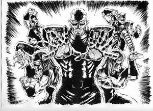 Five Emperors concept art