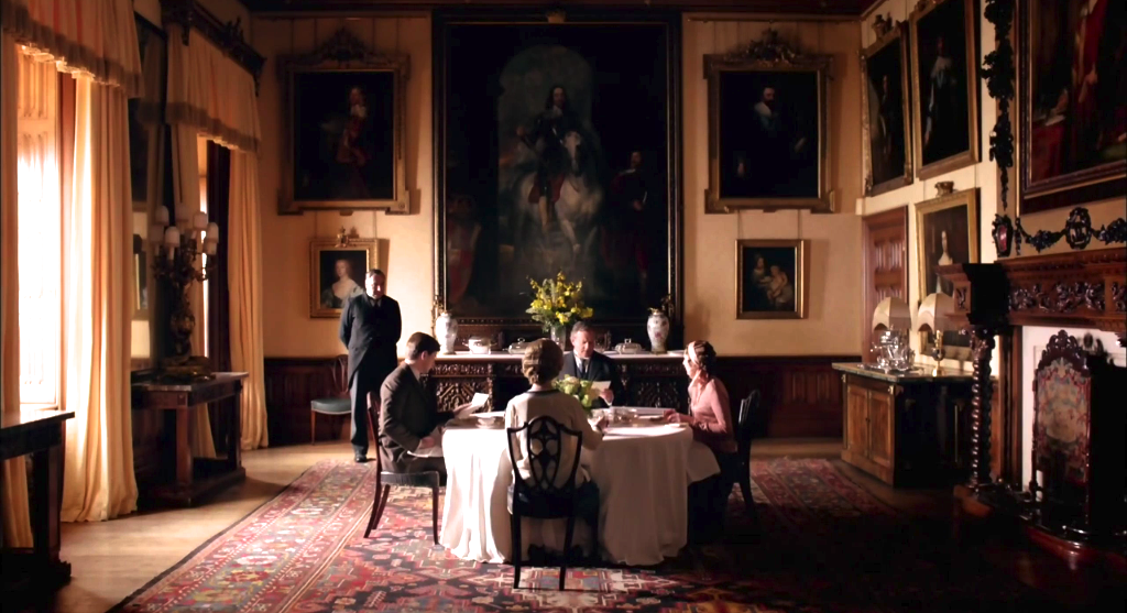 Dining Room Downton Abbey Wiki Fandom Powered By Wikia