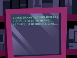 S02e10 orange scene written out