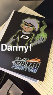 Danny Phantom drawing by Butch-large