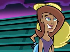 S02e14 Brittany walking by Dora