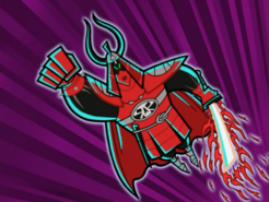 S02M03 Scarlet Samurai attacking