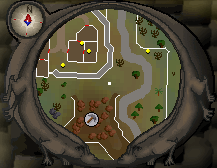 Map clue solution South-eastern Varrock Mine map