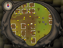 Map clue solution West Ardougne map