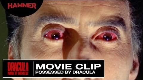 Dracula Prince of Darkness Possessed by Dracula (Official Clip)