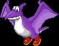 Old Purple Dino adult