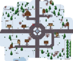 Valkemarian Tales town centre map