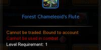 Forest Chameleoid's Flute
