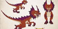 Scarlet Fangsaur