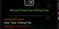 Blessed Deep Sea Fishing Pole
