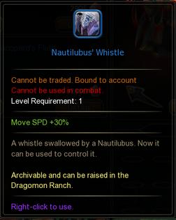 Nautilubus Whistle